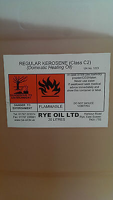 KEROSENE 205 LITRE HEATING OIL