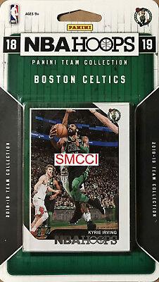Boston Celtics 2018 2019 Hoops Factory Sealed Team Set Kyrie Irving Tatum plus