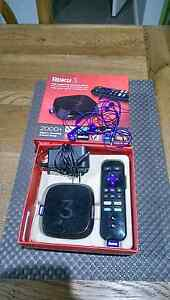 ROKU 3 - model 4230 R - Internet HD TV Streaming with Headphones Hampton Park Casey Area Preview