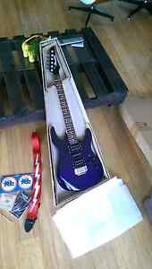 Ibanez GRX70 , deep purple electric guitar, new Toowong Brisbane North West Preview