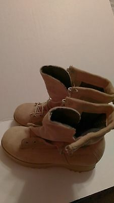 WELLCO, BOOTS COLD WEATHER GORETEX, DESERT TAN, SIZE 5- EXTRA WIDE, GREAT SHAPE.