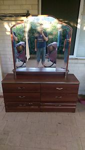 Vintage Dresser with angled mirror Rivervale Belmont Area Preview