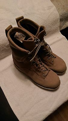 BATES, BOOTS COLD WEATHER GORETEX, DESERT TAN, SIZE 6 - WIDE, GREAT SHAPE.