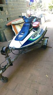 Kawasaki ts 650 jet ski and trailer 12mths rego Sydney City Inner Sydney Preview