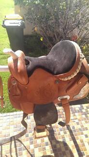 western barrel racing saddle $800 Dungog Dungog Area Preview