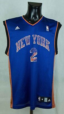 Robinson, New York Knicks (Nate Robinson New York Knicks NBA Jersey  #2 ADIDAS Size M - L (LABEL M))