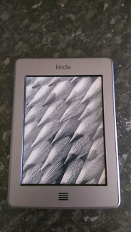 Kindle touch, excellent condition.