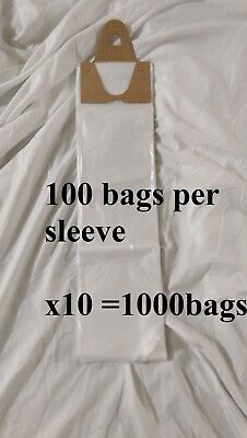 Poly Newspaper Bags 1000 Ct.clear 5 12x19 Dog Poop Diaper Pet Waste 5.5x19