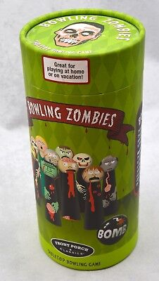 2010 Front Porch Classics Bowling Zombies Tabletop Bowling Game Halloween #53756 (Halloween Front Porch)