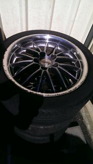 """17"""" advanti racing wheels (commodore/bmw) Woodcroft Blacktown Area Preview"""