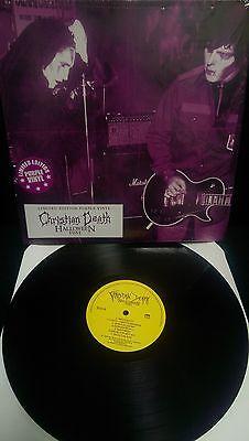 CHRISTIAN DEATH Halloween 1981 LP Gothic (Rozz Williams Rikk Agnew) OUT OF PRINT