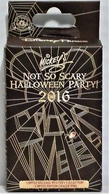 Disney 2016 Mickey Not So Scary Halloween Party Mystery Box Collection Pin NEW (Halloween Party Mystery Box)