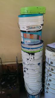 15L plastic buckets
