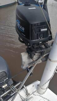 outboard 5 HP Seastar 2 stroke