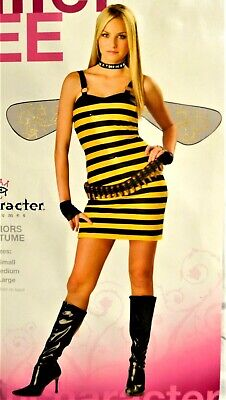 Killer Bee Teen M/Small Bumblebee In Character Costume FREE