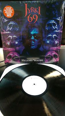 JYRKI 69 - Helsinki Vampire LP (69 Eyes) Last Halloween BloodLust Goth Rock  - Lps 2017 Halloween