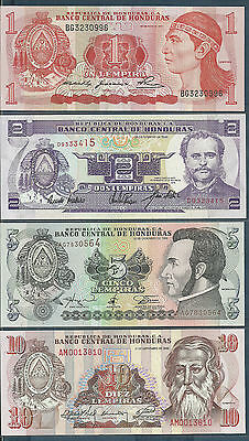 Honduras 1 2 Lempiras 2006 UNC 2pcs set