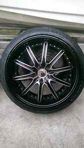 "20""equus  wheels 5x120 Bligh Park Hawkesbury Area Preview"