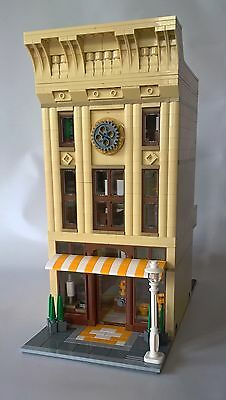 Lego City Custom Modular Kitchenware Store And Office Building