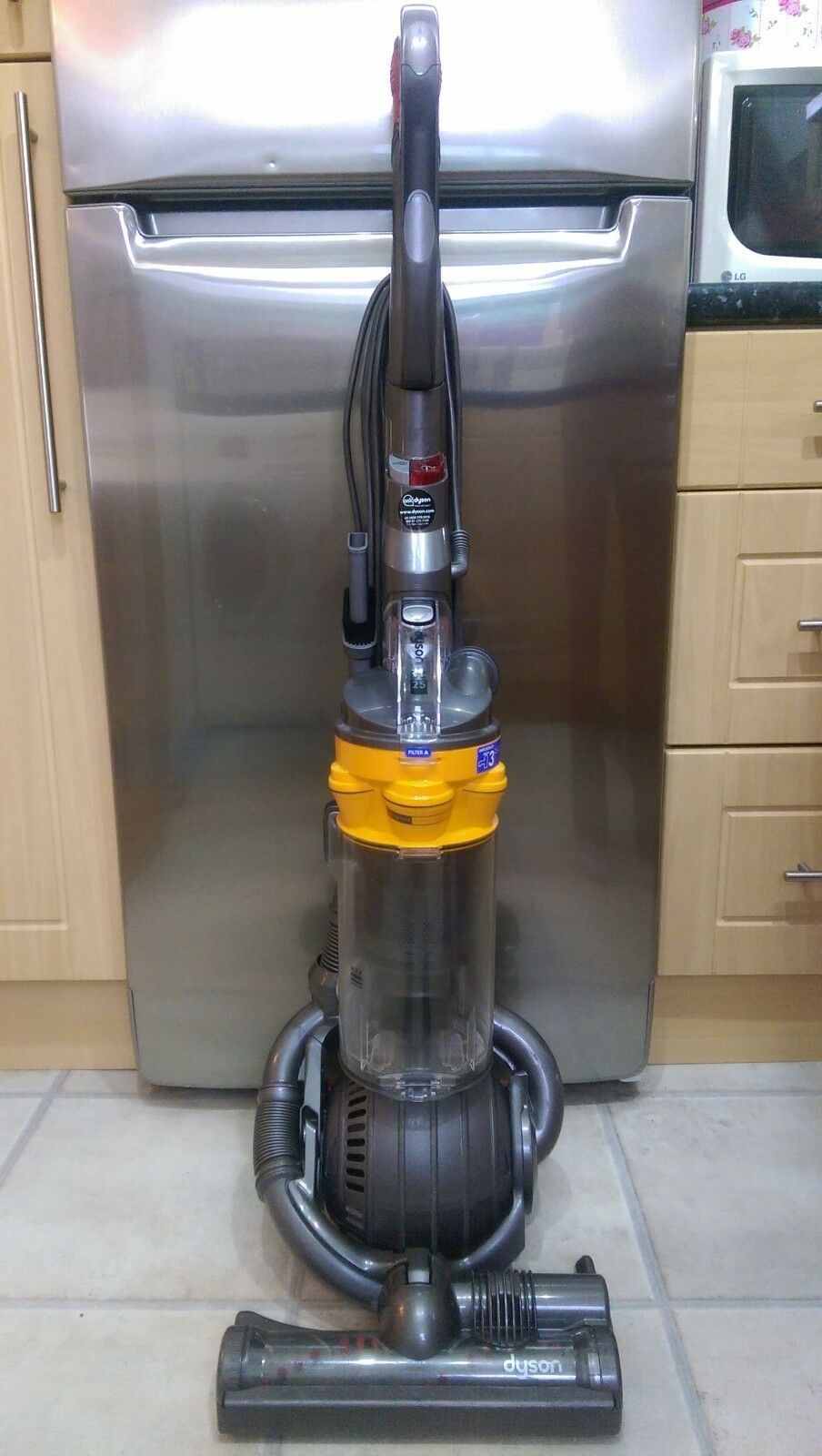 refurbished dyson dc25 upright ball vacuum