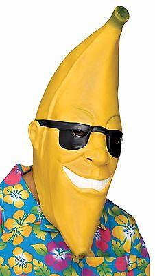 Banana Head Sunglasses Man Halloween Crazy Laugh Gag Face Mask Fun Costume - Crazy Halloween Party Costumes
