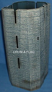 CASTLE-TOWER-SPARE-PARTS-FROM-PLAY-ALONG-HELMS-DEEP-SET-LOTR-AOME-275mm-Tall