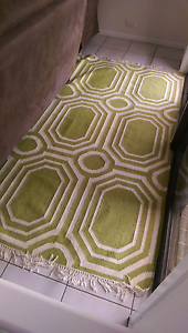 Green patterned rug, must pick up today or tomorrow Nudgee Brisbane North East Preview