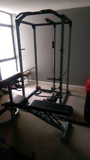 Power cage and bench weights set Perth CBD Perth City Preview