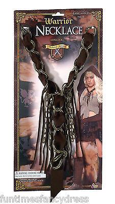 mittelalterlich König Wikinger Krieger Conan Halskette Kostüm Zubehör Game - König Kostüm Zubehör