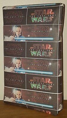 Size A1/A2/A3 - STAR WARS - THE LAST JEDI Wrapping Paper, Luke Skywalker Leia