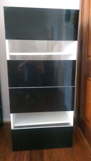 Ikea Storage Unit with Two Glass door Cromer Manly Area Preview