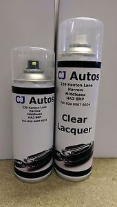 Spray Paint Clear Lacquer Cans Colour Code Mixed Custom Car High Quality Ebay