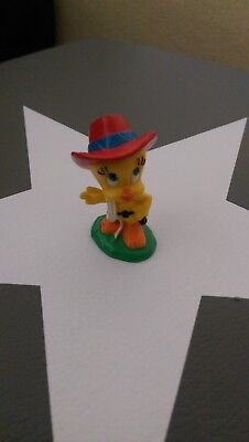 Tweety als Cowboy Figur Bully 1983 Sehr guter Zustand