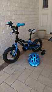 Child's Bicycle and helmet. Secret Harbour Rockingham Area Preview