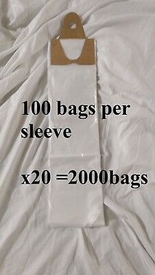 Poly Newspaper Bags 2000 Ct.clear 5 12x19 Dog Poop Diaper Pet Waste 5.5x19