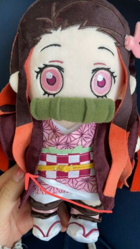 Demon Slayer Kimetsu no Yaiba Kamado Nezuko Plush Doll Toy Change Clothes Limit