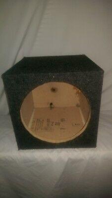 12 inch sub woofer enclosed speaker box ()