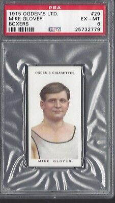 1915 OGDEN'S LTD - #29 MIKE GLOVER - BOXERS - PSA 6 - SMR $40