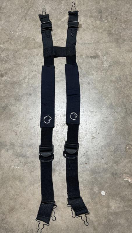LION MODEL SB324 Firefighter Turnout Padded Suspenders