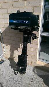 Mercury 4 HP  Long Shaft Outboard. Yanchep Wanneroo Area Preview