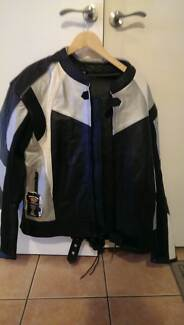Womens Motorcycle Leather Jacket - extra large Alexandria Inner Sydney Preview