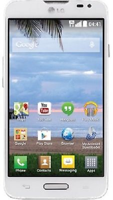 Lg Ultimate 2 White Android Prepaid Tracfone With Triple   3X   Minutes For Life