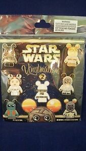 Disney  VINYLMATION STAR WARS  Series #2 Booster 7 pin set  New sealed