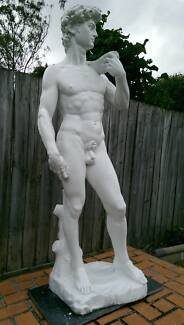 Italian Art Decor David Michelangelo Large Stone Sculpture 1.6m
