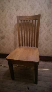 8 x timber chairs for dining table Newcastle 2300 Newcastle Area Preview