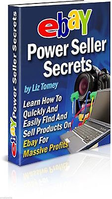 Ebay Power Seller Secrets Ebook PDF Free Shipping Master Resell Rights