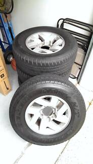 """Mitsubishi Triton ⁄ Challenger PA 16"""" Rims ⁄ Mags with 4wd tyres Indooroopilly Brisbane South West Preview"""