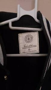 Grey/Black College Jacket (M) Campbelltown Campbelltown Area Preview