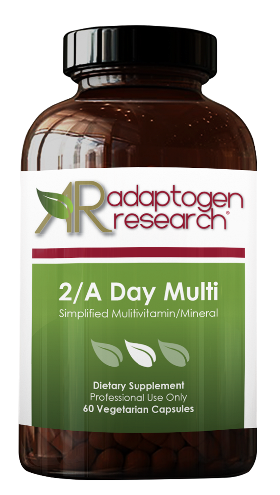 2/A Day Multi Multivitamin Supplement twice daily formula 60VCaps