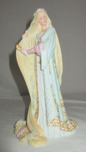 """Lenox Legendary Princesses Rapunzel Bisque Porcelain 8.75"""" Tall EUC"""